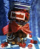 Bottled cherries