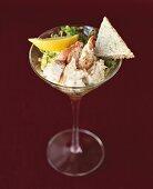 Lobster and shrimp cocktail