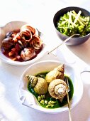 Snail and whelk dishes from Normandy
