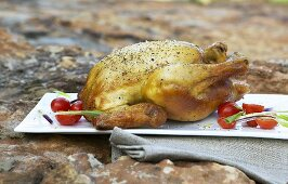 Rooibos tea-smoked chicken (South Africa)