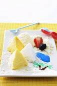 Ice cream pyramids