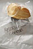Berkswell cheese (English sheep's cheese), vacuum packed