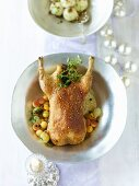 Duck with apples and swedes (for special occasion)