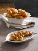 Sweet and sour baby onions with deep-fried focaccia