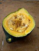 Half an acorn squash