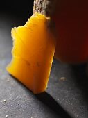 Mimolette (hard cheese from France)