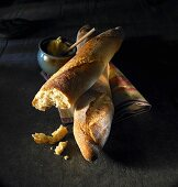 Baguettes and butter