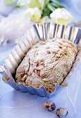 Courgette bread with pine nuts for Easter