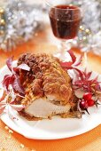 Breaded veal (Christmas)