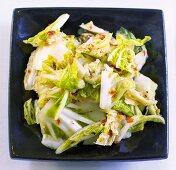 Kimchi (Chinese cabbage dish, Korean speciality)