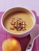 Almond milk with apricots