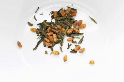 Sencha Genmaicha (green tea with roasted whole-grain rice)