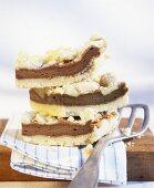 Cappuccino crumble cake