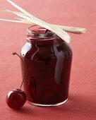 Cherry and lemon grass jam