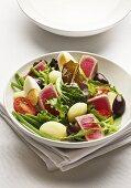 Nizza salad with tuna