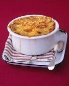 Lancashire hotpot (Meat and potato casserole, England)