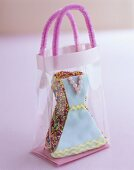 Iced cake (dress) in a bag