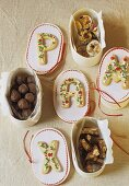 Chocolates, sweets and biscuits to give as gifts