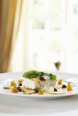 Turbot fillet on a bed of caramelised chicory