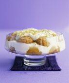 Ricotta trifle with amarettini