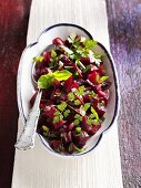 Marinated beetroot