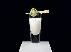 Jerusalem artichoke cream with a pork knuckle praline