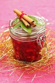Cranberry-Apfel-Marmelade als Weihnachtsgeschenk
