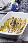 Chicory bake with thyme