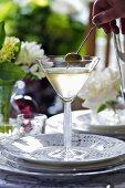 A Dirty Martini