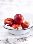 Nectarines in a bowl