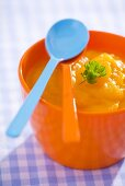 Carrot puree (baby food)