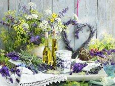 Lavender still life