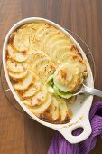 Kartoffel-Lauch-Gratin