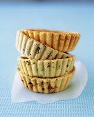 Savoury shortcrust tartlet cases