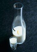 Home-made milk liqueur