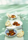 Caponata (Sweet and sour vegetables, Italy)