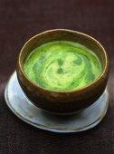 Potato and watercress soup