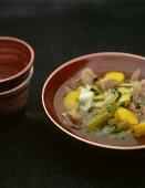Irish stew (Lamb and potato stew)