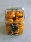 Pickled kumquats