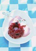 Rote Grütze (red berry jelly)