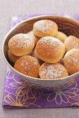 Sweet yeast dough rolls