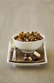 Chocolate cluster muesli