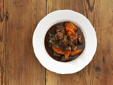 Goulash with carrots