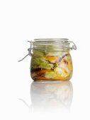 Sweet and sour pickled Chinese cabbage