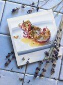 Lobster au gratin with beurre blanc (France)