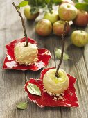 Toffee apples for Chilbi Fair