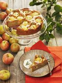 Apple cake with rosemary