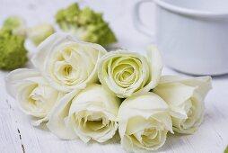 White roses (Athena)