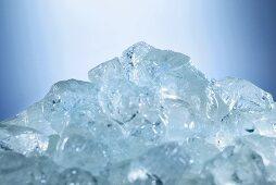 Ice cube mountain