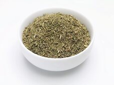 Dried Thuringian thyme